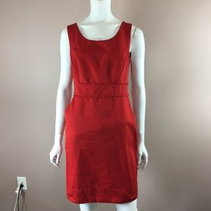 The Limited Sheath Dress Red Size 6